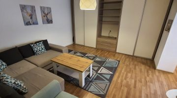 Apartment for rent in Cluj, near the University of Medicine and Pharmacy and the University of Veterinary Medicine, Calea Mănăștur street, with 2 bedrooms, livingroom with kitchen and bathroom Video