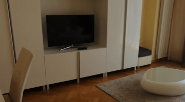 Luxury apartment for rent in Cluj-Napoca, Calea Mănăștur, near the University of Veterinary Medicine, living-room and bedroom Video